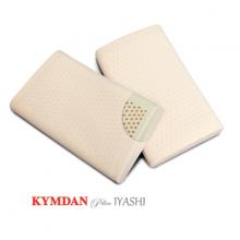 Combo 2 gối cao su thiên nhiên Kymdan Pillow IYASHI 48 x 28 x 7 cm - Tặng 1 gối cùng loại