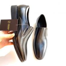 Giày lười nam da thật siêu bền đẹp Geleli