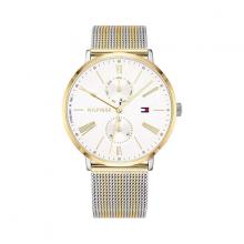 Đồng hồ Tommy Hilfiger 1782074 nữ lịch thứ dây lưới pvd màu vàng 38mm