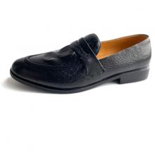 Giày nam dáng Hàn quốc - Giày da thật Geleli