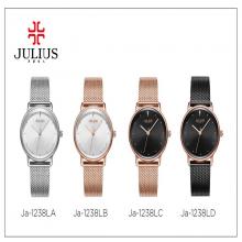 Đồng hồ nữ JA-1238L julius hàn quốc dây thép