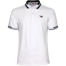 Áo thun nam cổ bể pigofashion phiên bản đặc biệt màu sắc mới mẻ aht26 màu trắng