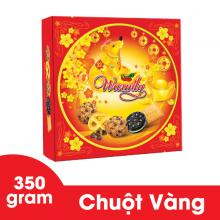 Bánh Warmly Chuột Vàng hộp thiếc 350 gram Bibica