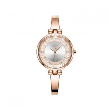 Đồng hồ nữ JA-1228A Julius hàn quốc dây thép ( đồng mặt trắng )