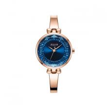 Đồng hồ nữ JA-1228B julius hàn quốc dây thép (đồng mặt xanh)