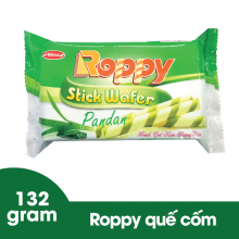 Bánh quế kem cốm Roppy 132 gram Bibica