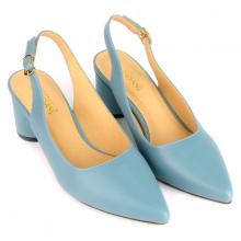 Giày cao gót đế trụ SUNDAY CG48 - Màu xanh dương