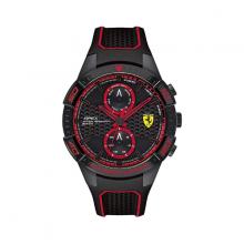 Đồng hồ Ferrari 0830634 nam máy pin lịch thứ ngày dây cao su 46mm