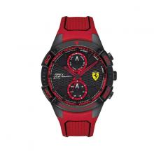 Đồng hồ Ferrari 0830639 nam máy pin lịch thứ ngày dây cao su 46mm