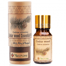 Tinh dầu hoàng đàn ECOLIFE - Cedar Wood Essential Oil