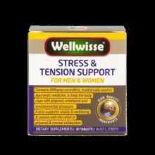 Viên Uống Giảm Căng Thẳng Và Mệt Mỏi Wellwisse Stress Tension Support (30 viên)