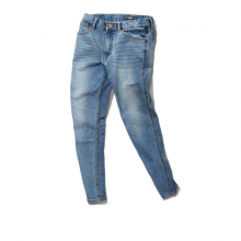 Quần jeans nam The Cosmo HARRY SLIM FIT JEANS màu xanh TC1024005LB