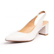 Giày nữ, giày cao gót slingback erosska thời trang nữ kiểu dáng basic  EH015 (màu trắng)