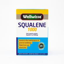 Viên uống dầu gan cá mập Wellwisse Squalene 1000 (365 Viên)