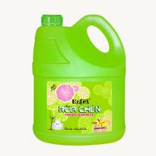 Nước rửa chén tinh dầu EZTEX chanh và gừng 4000ml