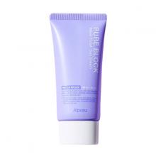 Kem chống nắng A'Pieu tím Pure Block Natural Waterproof Sun Cream SPF50 50ml