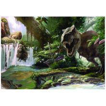 Tranh 3D dán tường thế giới khủng long