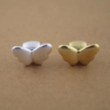 Charm bạc con bướm xỏ ngang - Ngọc Quý Gemstones