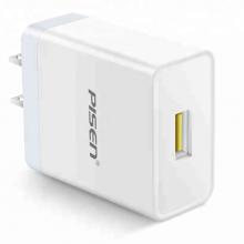 Sạc Pisen USB Quick Charger (QC3.0, 18W) - Hàng chính hãng