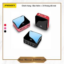 Sạc dự phòng Pisen Mini Mirror 10000mAh