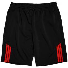 Quần short nam thể thao thoáng mát phối sọc pigofashion qttn01 (đỏ)