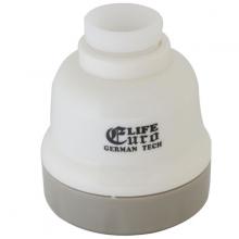 Đầu vòi tăng áp 1 chế độ chảy Eurolife EL-TA02 (Trắng)