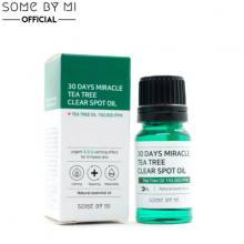 Tinh dầu chấm mụn Some By Mi 30 Days Miracle Tea Tree Clear Spot Oil 10ml