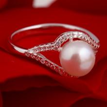 Nhẫn bạc đính ngọc trai - Opal - RPT6-04