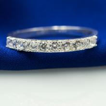 Nhẫn bạc Opal - V20