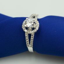 Nhẫn bạc Opal - V9
