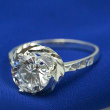 Nhẫn bạc Opal - V2