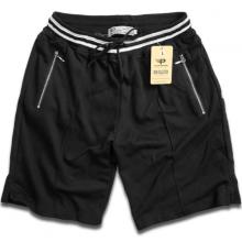 Quần short nam thể thao hợp thời trang vải nỉ thoáng mát qttn02 (đen)