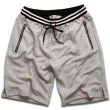 Quần short nam thể thao hợp thời trang vải nỉ thoáng mát qttn02 (xám)