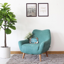 Ghế đơn sofa vải Furnist Davy