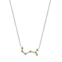 Dây chuyền Chòm sao Bọ Cạp J'admire bạc cao cấp mạ Platinum đính đá Swarovski Zirconia - 5 màu lựa chọn