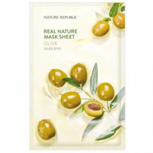 Mặt nạ giấy dưỡng da chiết xuất o liu Nature Republic Real Nature Olive Mask Sheet 23ml