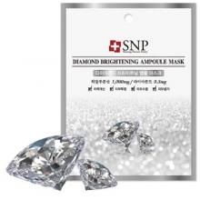 Mặt nạ dưỡng trắng SNP Diamond Brightening Ampoul Mask ampoule 25ml