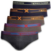 Bộ 5 quần lót tam giác nam thun lạnh thoát nhiệt pigofashion tgpigo02