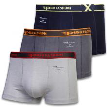 Bộ 3 quần lót boxer nam thun lạnh thoáng mát pigofashion qlpg03