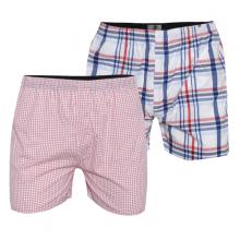 Bộ 2 quần đùi nam mặc nhà màu ngẫu nhiên bonado qd01