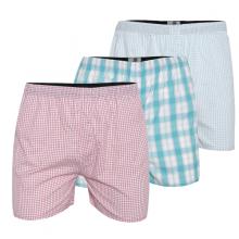 Bộ 3 quần đùi nam mặc nhà màu ngẫu nhiên bonado qd02