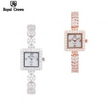 Đồng hồ nữ Chính Hãng Royal Crown 3808- ( dây đá )