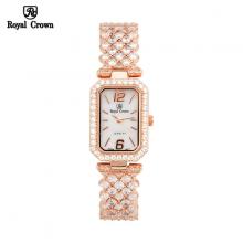 Đồng hồ nữ Chính Hãng Royal Crown 6316-J-RG ( dây dá vỏ vàng hồng )
