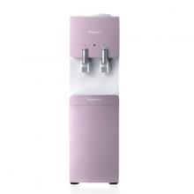 Máy làm nóng lạnh nước uống loại đứng hồng-trắng KG49