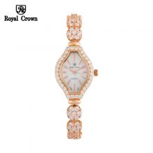 Đồng hồ nữ Chính Hãng Royal Crown 63815-J-RG ( dây đá vỏ vàng hồng )