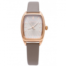 Đồng hồ nữ Julius Hàn Quốc dây da JA-997 (xám)