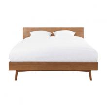 Giường đôi Portobello gỗ tự nhiên 1m4