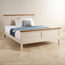 Giường đôi Sark gỗ sồi 1m5 - cozino