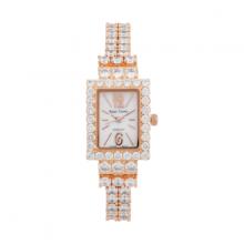 Đồng hồ nữ Chính Hãng Royal Crown 3584-J-RG (dây đá vỏ vàng hồng)