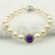 Vòng tay ngọc trai trắng - Opal - B2